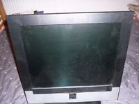 Monitor / TV with remote. £20.