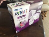 Never used: Philips Avent breast pump - single electric