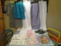 "LADIES SIZE 16/18 .. 12 ITEMS ""NIGHTWEAR"" .. 8 NEW AND UNWORN"