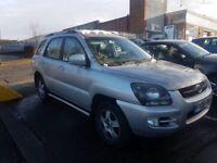 2008-REG KIA SPORTAGE XE CRDI SPORT DIESEL AUTOMATIC (spare or repair)