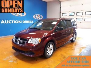 2017 Dodge Grand Caravan SXT! TV/DVD! ALLOYS! ONLY 25020KM!