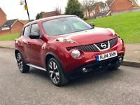 2014 14 Nissan juke 1.5dci n-tec diesel low mileage CARDS ACCEPTED***