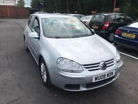 ***VOLKSWAGEN GOLF MATCH 1.9TDI 2008 COMES WITH 12 MONTHS MOT***