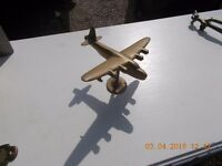 brass aeroplane for sale