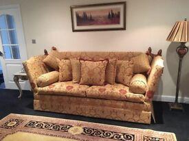 David Gundry Manhattan Major Sofa 4 Seater drop arm Knoll Rrp £5,300