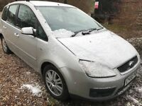 Ford Focus C-Max Ghia TDCI 1560cc Turbo Diesel 5 speed manual 5 door hatchback 56 Plate 01/09/2006