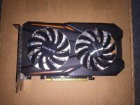 GIGABYTE NVIDIA GeForce GTX 1050 Ti Windforce OC (4GB) Graphic Card