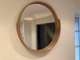 Made V&A Plywood Round Mirror 50cm RRP £49 **SOLD**
