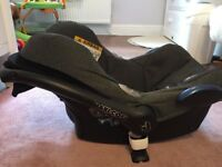 Maxi Cosi car seat and ISO fix