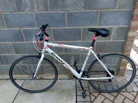 Light weight aluminium road bike