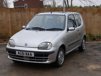 Fiat Seicento SX - Low Mileage - 49K Miles - Long MOT (Only In Leeds until Saturday 21st!)