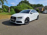 Audi, A3, Sline, Saloon, 2015, Semi-Auto, 1395 (cc), 4 doors. . Not vw golf, seat, bmw, mercedes,