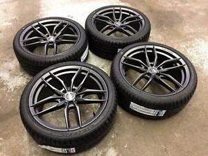 """19"""" Flow Forged Wheels 5x112 and Performance Summer Tires (AUDI Cars)"""