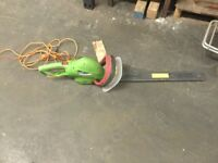 Used florabest electric hedge trimmer