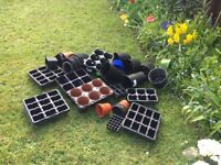 Garden Pots and Seed Trays