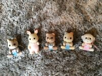 Sylvainian Families Baby Animal Figures