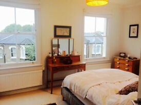 Large room, 3 month sublet mid-Jan to mid-April in Finsbury Park. Great location, Lovely flatmates