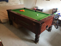 Traditional Superleague 6x3 pool table