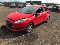 Breaking 2014 Ford Fiesta 1.2 l manual