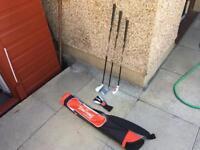 Brand New Spalding Junior Kids Golf Clubs Set (Age 7-11) Boys Children's