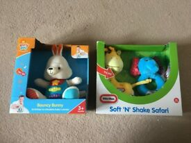 BRAND NEW Little Tikes and early play soft n shake toys - - OTHER ITEMS ALSO AVAILABLE