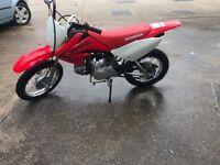 honda crf70 not Kawasaki not Suzuki not Polaris