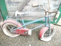 VERY OLD CHILDS BIKE