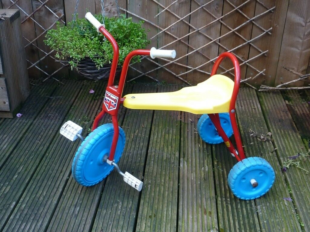 Vintage 1960 S Retro Triang Childs Pedal Trike Tricycle