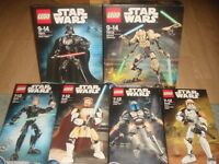 lego starwars complete and boxed