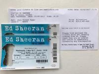 Legit 2 x Ed Sheeran tickets 03/05/17 at The O2 - £200 for both!!
