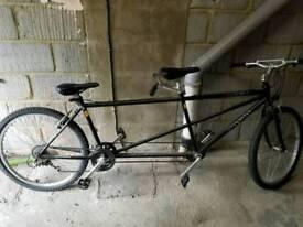 Duet tandom bike