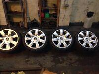 Bentley alloy wheels