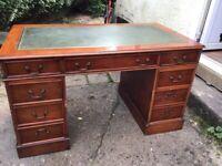 Antique style home office bureau/ writing desk