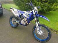 Sherco factory 450 not KTM may concider px for smaller enduro bike