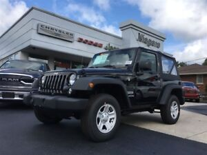 2017 Jeep Wrangler SPORT,REMOVABLE TOP,4X4,