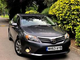 **63 PLATE+FULL SPEC** TOYOTA AVENSIS 2.0 D4-D ICON PLUS + FULL SERVIC HSTRY + 1 CO OWNER + MINT CAR