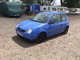 VW LUPO BREAKING FOR SPARES 1.4 16V BLUE SEAT AROSA PARTS