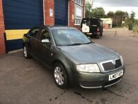 2007 skoda superb 1.9tdi 12 months mot/3 months parts and labour warranty