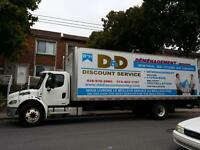 DÉMÉNAGEMENT-MOVING professional. SPECIAL! 85$/HR-Truck+3 Movers