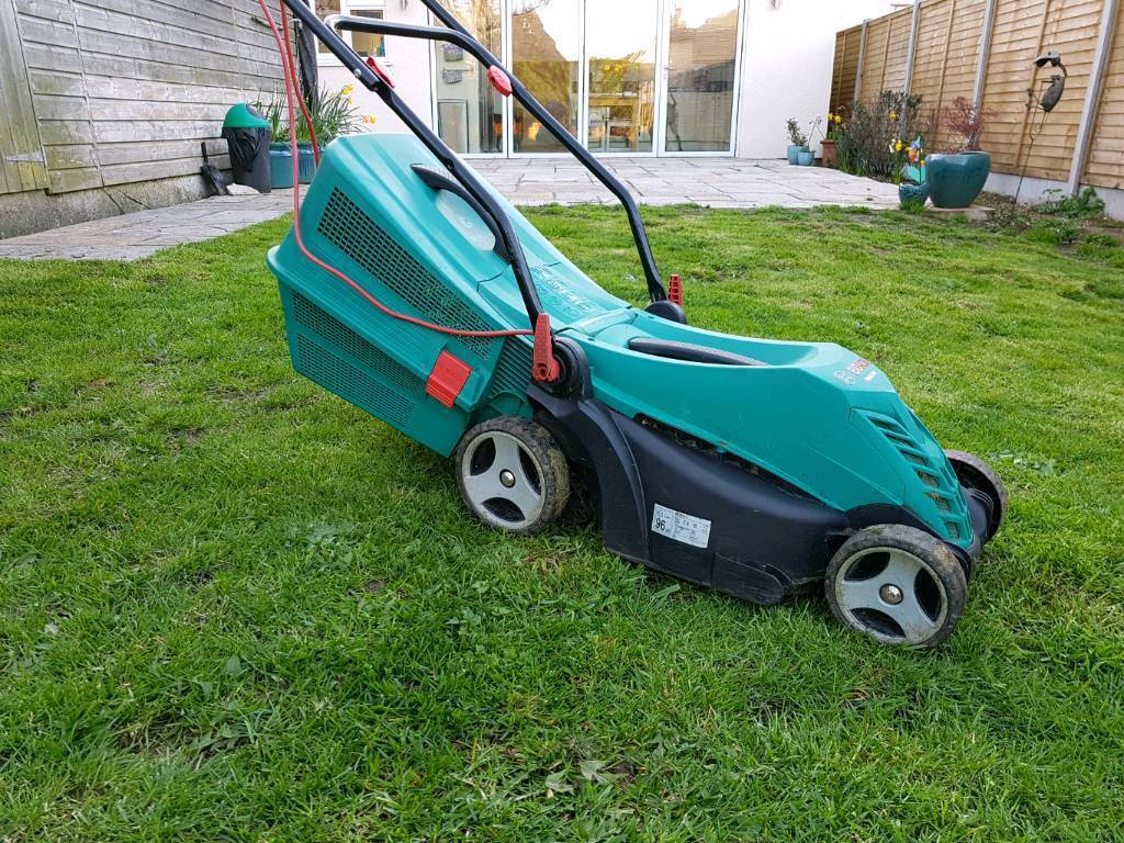 bosch rotak 34 r lawn mower grass cutter repair in winscombe somerset gumtree. Black Bedroom Furniture Sets. Home Design Ideas