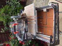 Tile Cutter 110 volt water fed