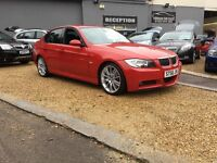 2007 Bmw 330d m-sport ....... Red ..... E90 m sport ..... P/X WELCOME