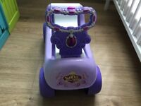 Sofia the first ride on