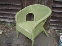 FREE Lloyd Loom style. Cane Garden Conservatory Chair ; Collect Haverhill