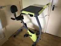 Exercise Bike With Desktop
