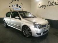 Renault Clio 182 RS with both Cup Packs