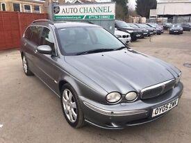 Jaguar x type diesel. Free warranty /Ne mot