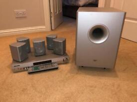 *Price Reduced* Elac 5.1 surround sound system + Pioneer Audio/Video Multi receiver