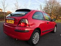 Rover 25 2003 45K FULL TEST 2 owners low mileage cheap vehicle VERY TIDY NO headgasket issues