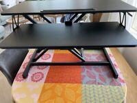 ERGOMAKER Height Adjustable Standing Desk - 80cm 32 Inch - Excellent Condition